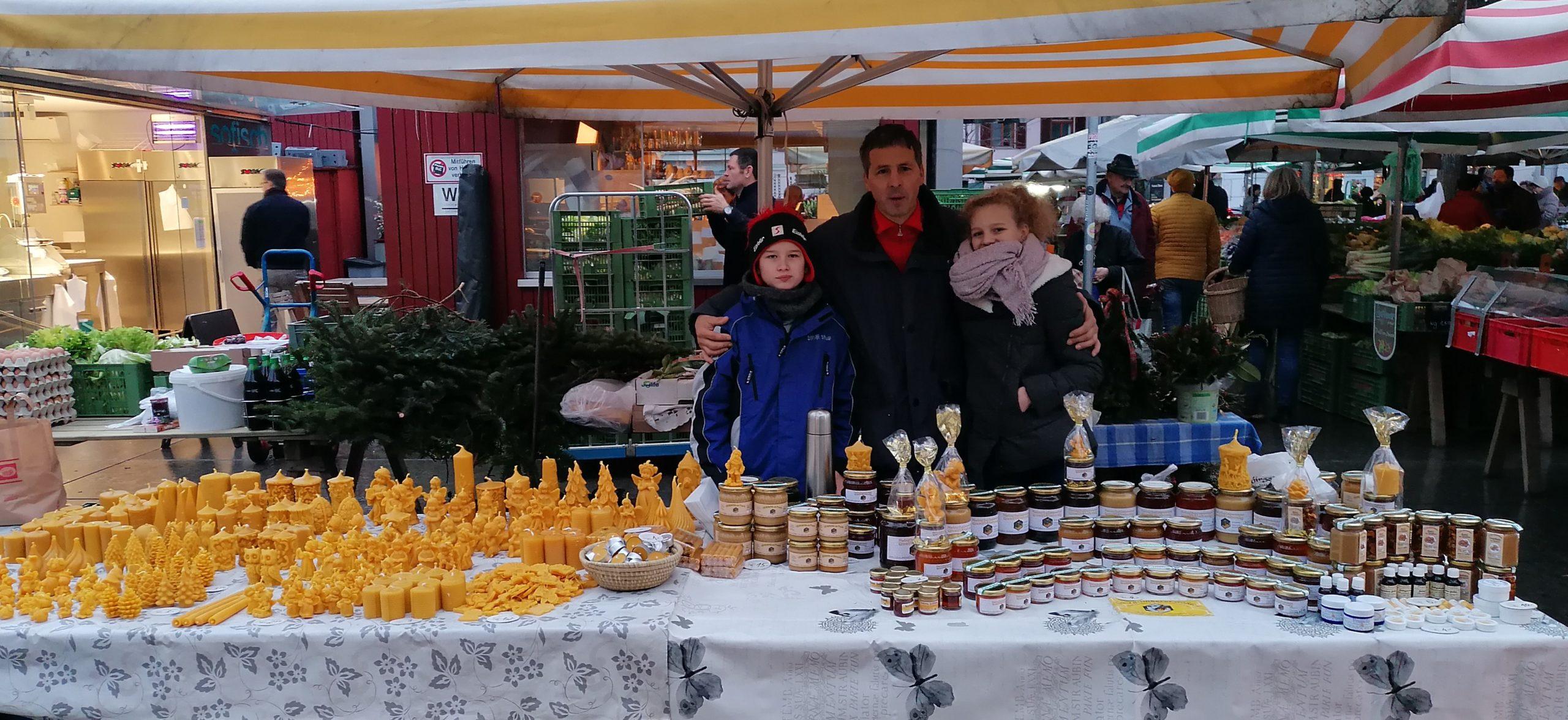 Honigverkauf im WEZ in Voitsberg